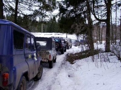 Авто Туристический Слет 1. 31 января 2004 от Павла  Горбача