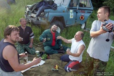 "Гонка ""Большой туризм 7"" 16-18 июля 2004 от Евгеньича"