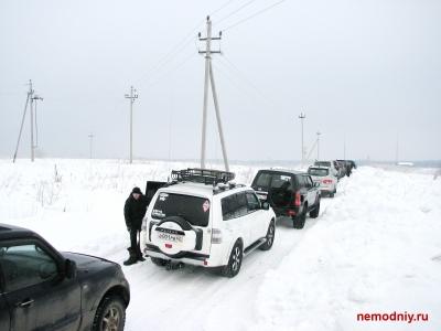 """Мастер-класс """"Снег"""" 16.02.13. от Чучи"""