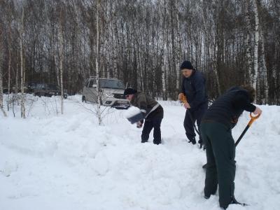 Мастер-класс Снег Нижний Новгород 13 февраля 2016 от Ворчуна