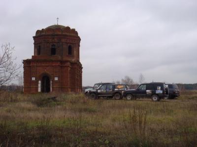 По Коломенскому благочинию 7 ноября 2010. Прокатка от Ольги