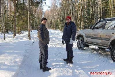 Поход к Урочищу Веретьево 24.03.12. от Тироши