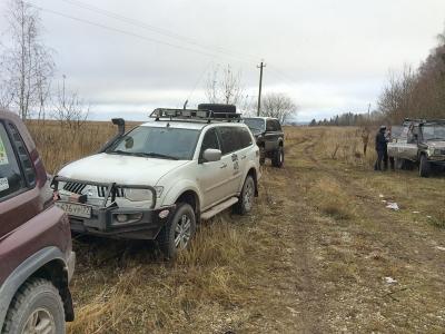 Поход вокруг Московской области IV. 14 ноября 2015 от Евгения на Тагере
