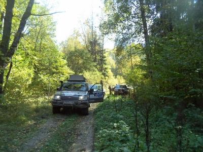 Покатушки без реки. 19-21 сентября 2014 от Димы (Шнива)