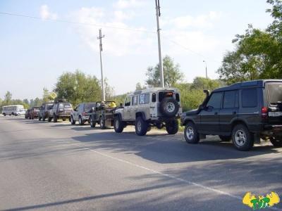 Прокатка трассы БТ-2 13.09.03. от Немодного