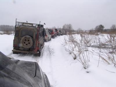 """Рейд """"Вдоль да по Волге"""" 10 февраля 2007 от Лёхи и Банги"""