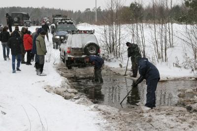 """Рейд """"Вдоль да по Волге"""" 10 февраля 2007"""