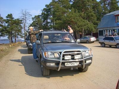"""Рейд """"Вдоль да по Волге"""" 24 марта 2007 от экипажа Трое на Шнивке"""