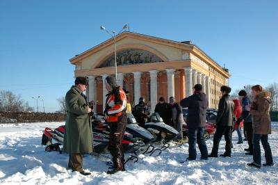Снегоходная гонка Karelia Open. Январь 2007 от Саввы Сафонова