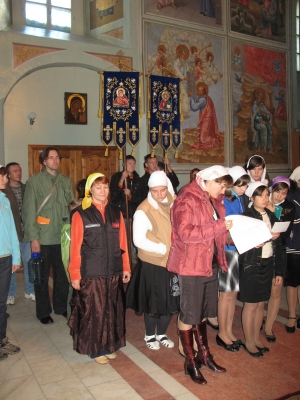 Внедорожный крестный ход 19-20 сентября 2009 от Веселы и Маши