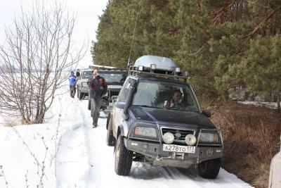 Закрытие снежного сезона 9 марта 2009 от Базилек и Зайки