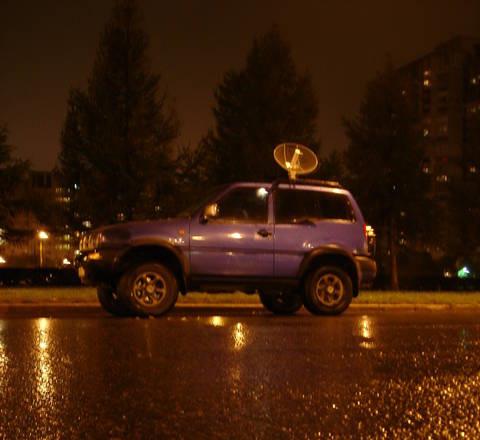 Осень 2006-го, на машине еще все штатное (антенна не в счет)
